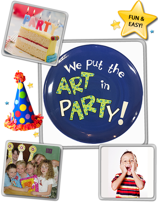 pottery by you kids parties